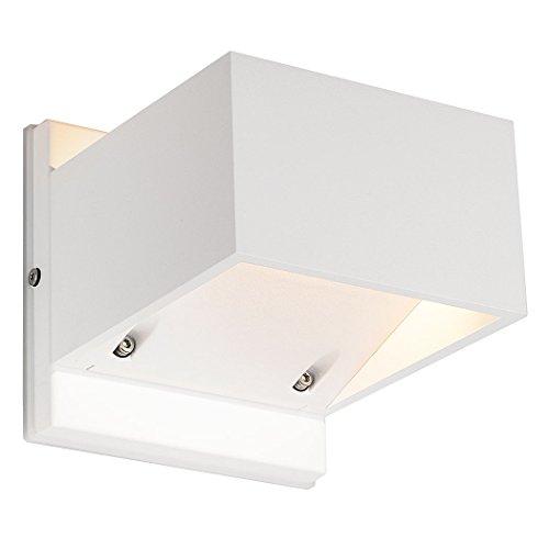 SLV Lighting 232101U Logs Wall Lamp, White