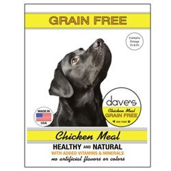 Dave's Grain Free Chicken Meal Dry Food for Adult Dogs (Bag 30lb) For Sale