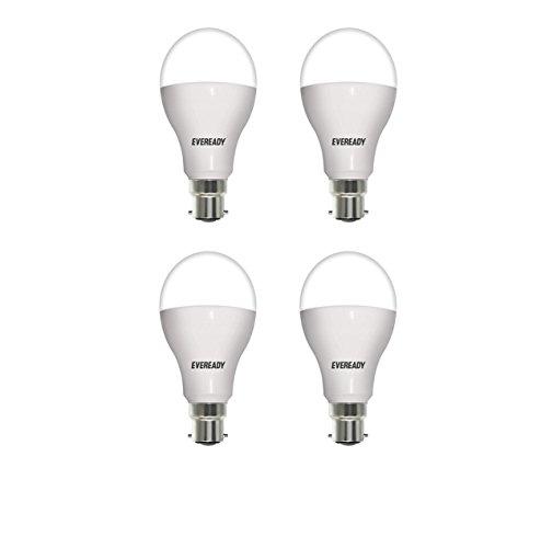 Eveready Base B22 14-Watt LED Bulb (Pack of 4, White)