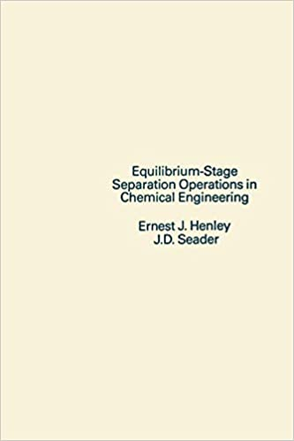 Equilibrium-Stage Separation Operations in Chemical