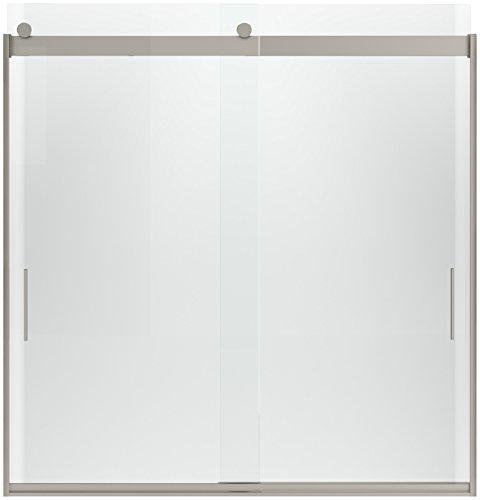 Kohler 706203-L-NX Levity Front Sliding Glass Panel and A...