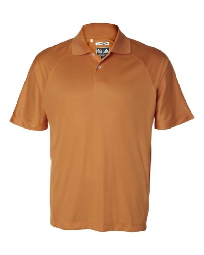 adidas Golf ClimaCool Mesh Polo Short Sleeve Sport Shirt (Tango, 3X-Large) ()