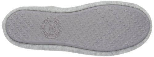 Isotoner  Stretch Terry, chaussons femme Gris - gris