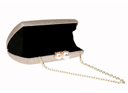 Ankoee Soirée Mariage Bandouliere Pochette Femme Champagne Main Soirée Mariage Pochette Sac à zrxB5zqY