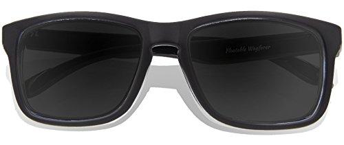 Matte Lens Revo soleil Full Black de adulte KZ Lunettes Frame Black vqI4v