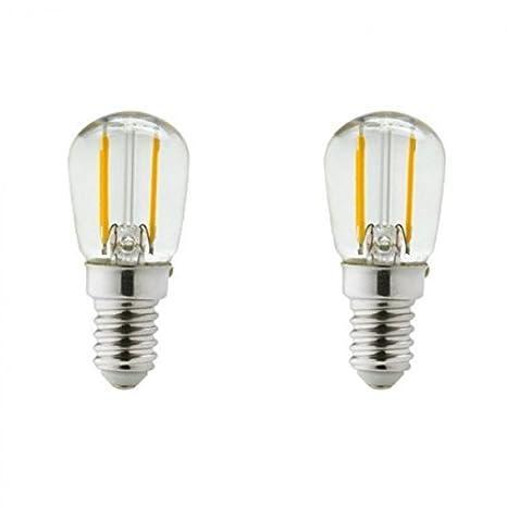Bombilla led E14, 2 (w eq. 20 watt)-frigorífico o campana-Lámpara, luz blanca neutra: Amazon.es: Iluminación