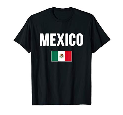 Mexico T-shirt Mexican Flag Love Gift Souvenir