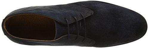 Selected Shdbolton Nubuck Chukka Boot, Náuticos Para Hombre Azul - Blau (Dark Navy)