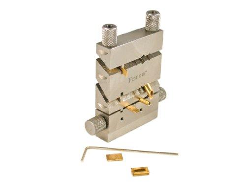 Forca RTGS-405 Jewelry Joint Miter Tubing Cutting Jig Vise - 45º / 60 º / 90 º / 120 º & 135º Degree Angle Cutter Tool (Cutter Jig)