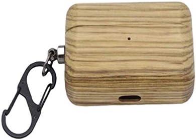 Khcr Caja de Madera/bambú para Apple Airpods Pro Estuche rígido para AirPods 3,Estuche Auricular Bluetooth inalámbrico Cubierta a Prueba de Golpes [LED Frontal Visible],Zebra: Amazon.es: Deportes y aire libre