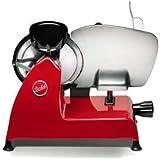 BERKEL - Affettatrice Elettrica Professionale da Tavolo con Affilatoio Incorporato - RED LINE 250