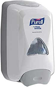 PURELL FMX-12 Push-Style Hand Sanitizer Foam Dispenser, Dove Grey, Dispenser for 1200 mL PURELL FMX-12 Sanitiz