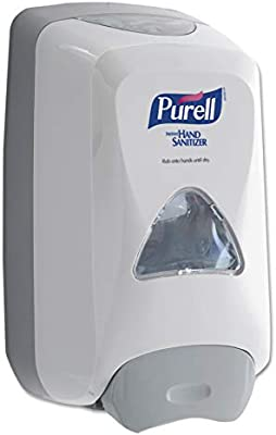 Purell Fmx 12 Push Style Hand Sanitizer Foam Dispenser White