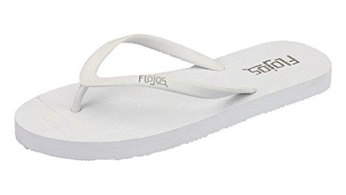 Flojos Women's Flop White Kai Flip raqYwrA