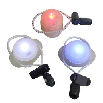 Bicycle Lights   Bike Bicycle Handlebar Light Ufo Style Rear Light 3 Color   Unidentified Flying Object Flair Illumination Pedal Saucer Panache Illuminate Wheel Elan Illuminated   1Pcs