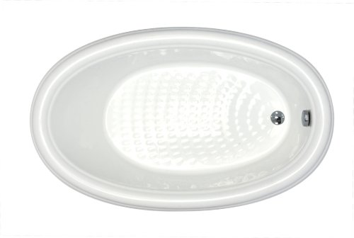 Oval Drop In Bath - 9