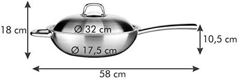 58 x 35 x 11.6 cm Assorted Tescoma Wok /Ø 32 cm President