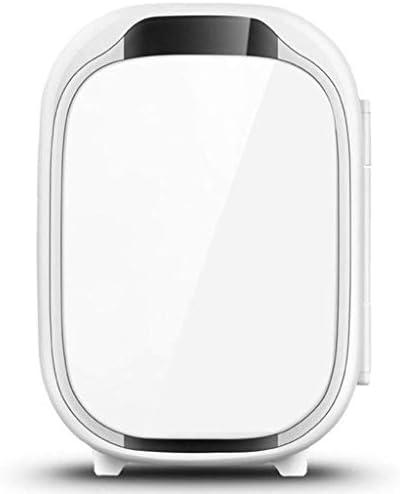 YLLNコンパクトミニ冷蔵庫、ポータブル6L冷蔵および暖房用小型冷蔵庫、カードミトリーオフィスファミリー用-ホワイト-20x26.5x29.5Cm(8x10x12Inch)