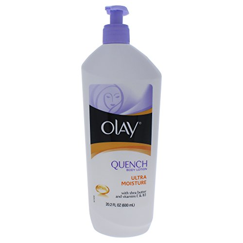 Olay Quench Body Lotion Ultra Moisture with Shea Butter and Vitamins E and B3,20.2 oz(Pack of 2)