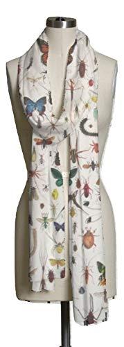 VIDA Bugs 2 Modal Scarf | Original Artwork Designed By Dimps1505 Hall