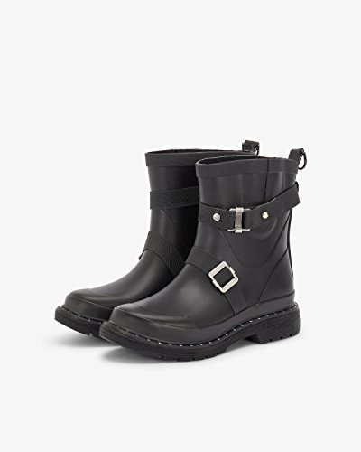 Rubberboots Short Jacobsen Women Black Rub320m Ilse 6IO1z
