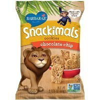 Barbara's Snackimals Cookies, Chocolate Chip, 2.125 Ounce (Pack of 18) Thank you for using our service