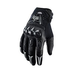 Mens Pittards Carbon - FOX BOMBER MX/OFFROAD GLOVES BLACK 3XL