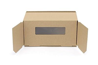 "Cardboard VR Viewer (Monocular lenses, Portable) Hacosco ""Tatami 1"""