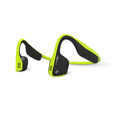 Aftershokz AS600IG Trekz Titanium Open Ear Wireless Bone Conduction Headphones, Ivy Green