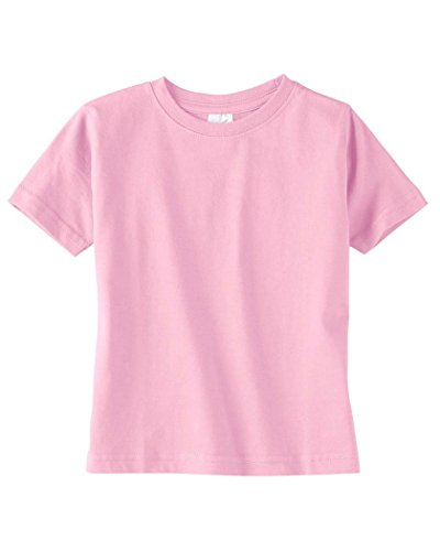 Rabbit Skins RS 3321 Toddler SS Jersey TEE, Vintage RED, 4T -