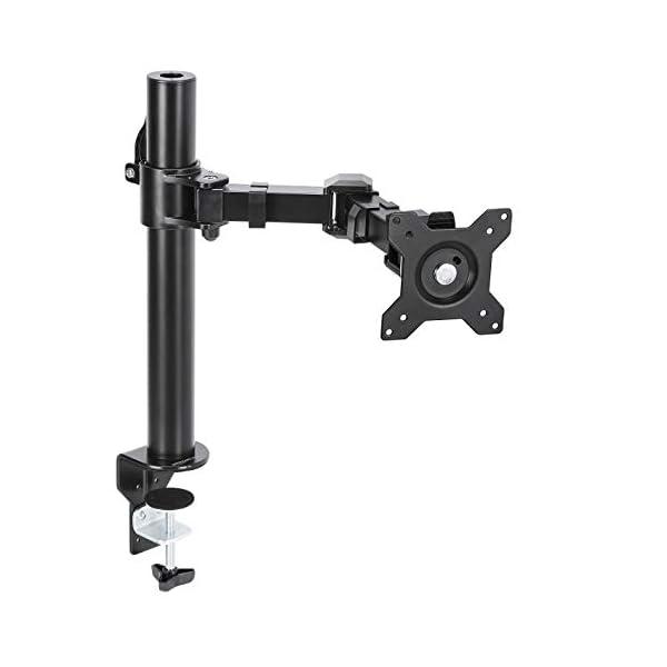 AmazonBasics Monitor Stand, Height Adjustable Arm Mount- Steel
