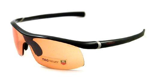 Amazon.com: Authentic Tag Heuer anteojos de sol TH 6210 001 ...