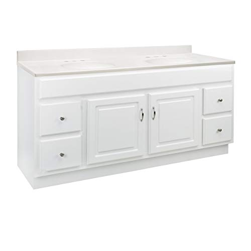 Design House 592840 Concord 2-Door 4-Drawer Cultured Marble 8