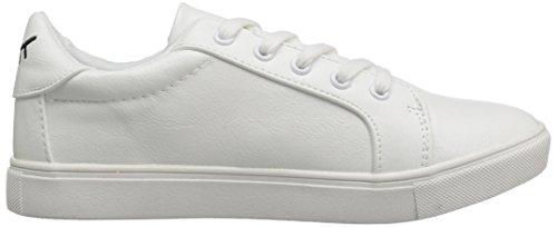 Betsey Johnson Womens Boom Fashion Sneaker White