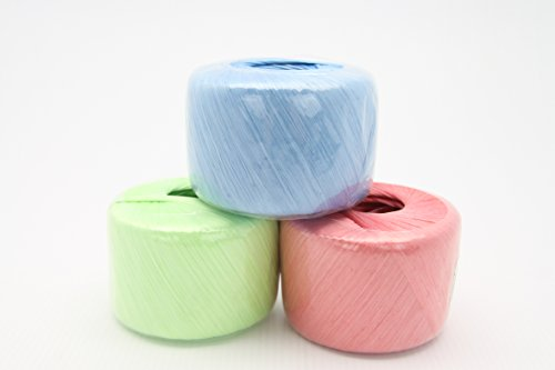 Polyester Nylon Plastic Rope Twine good for packing, carrying, hanging- ONE ROLL (Twine Plastic)