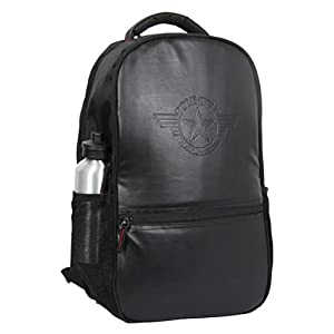 POLESTAR 30 Ltrs Casual School Backpack ( PS_VINTAGE_BLK _ Black )