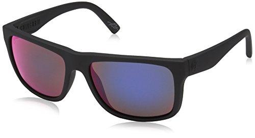 Electric Knoxville Smokescreen Wayfarer Sunglasses, Ohm Grey Plasma Chrome, 56 mm by Electric Visual