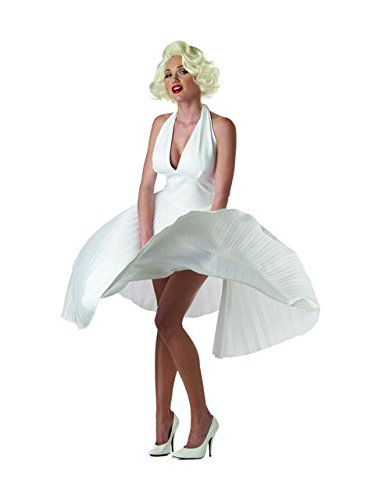 [Deluxe Marilyn Monroe Costume - X-Large - Dress Size 12-14] (Marilyn Monroe Deluxe Adult Costumes)