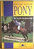 Know Your Pony, Susan McBane, 0706369785