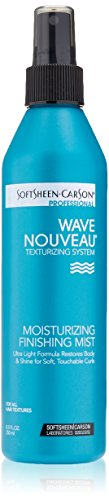 SoftSheen-Carson Wave Nouveau Coiffure Moisturizing Finishing Mist, 8.5 fl oz (Black Light Hairspray)