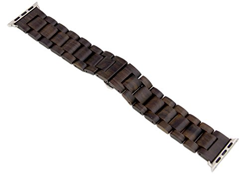 Apple Watch Bands,sports watch band,iwatch band 42mm ,Luxury Handmade Wooden Replacement Band/Strap for Apple iWatch Series 1  2 Edition Versions 201…