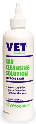 Vet Solutions Ear Cleansing Solution 8oz, My Pet Supplies