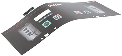 Bunn 29974.0006 Dual Membrane Switch by Bunn