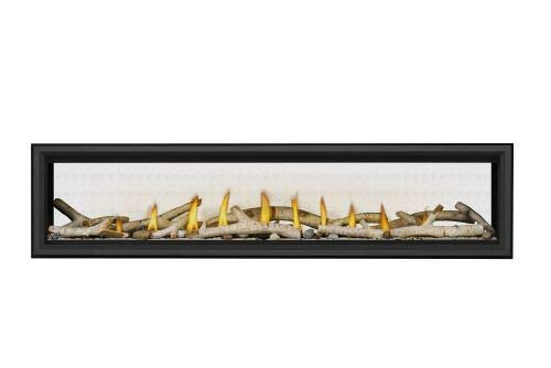 Vector LV74 Direct Vent See-Thru Gas Fireplace Package2 - NG