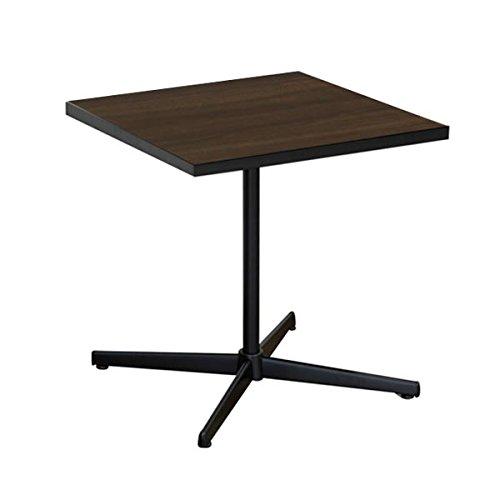 arne リビングテーブル 角型 机 カフェテーブル ハイタイプ 60TH Type4 ダークブラウン B00QQ9VYDG 幅60cm×高さ約60cm|ダークブラウン ダークブラウン 幅60cm×高さ約60cm