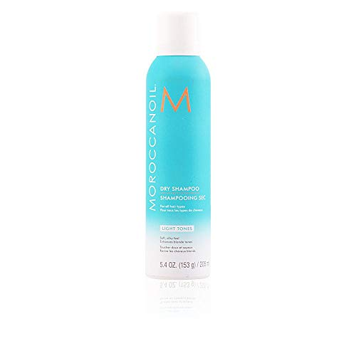 Moroccanoil Dry Shampoo Light Tones, 5.4 Fl Oz (Best Shampoo For Dry And Thin Hair)