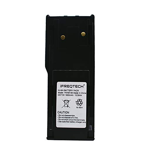 HNN8148 Battery for Motorola Radius P110 A110 P-110 Two Way Radio HNN8148A Ni-MH 1800mAh (Radius P110 Two Way Radio)