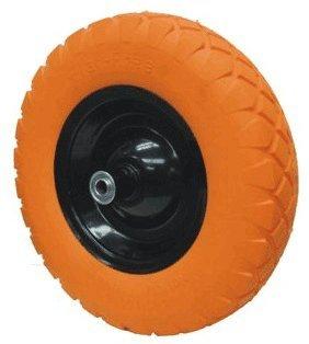 16-Inch Wheelbarrow Flat-Free Tire, #Cart-012F Orange Color