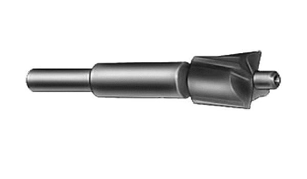 3//32 Pilot Shank Diameter 15//32 Body Diameter 2 13//16 Overall Length 1//4 Shank Diameter F/&D Tool Company 20208 Aircraft Counterbores Short Length
