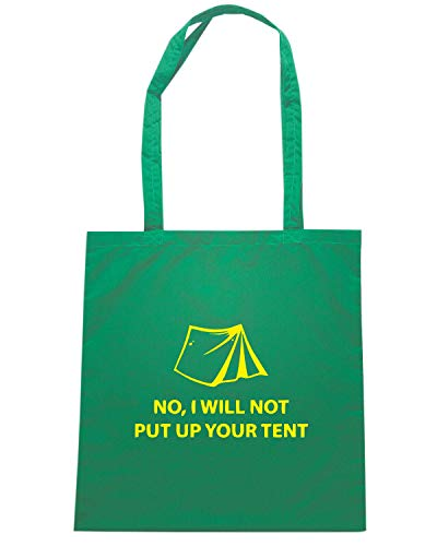 Verde Shopper NOT I UP YOUR TENT Borsa PUT WILL SP0083 O7a5gyTUqK